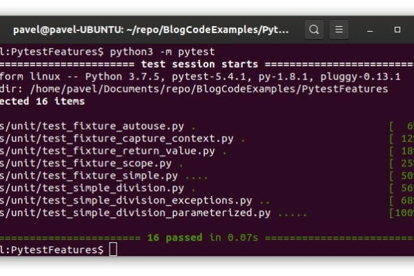 pytest in 5 minutes